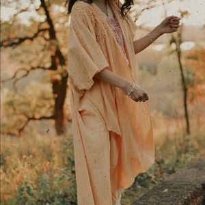 Free people NWT duster/lightweight cardigan